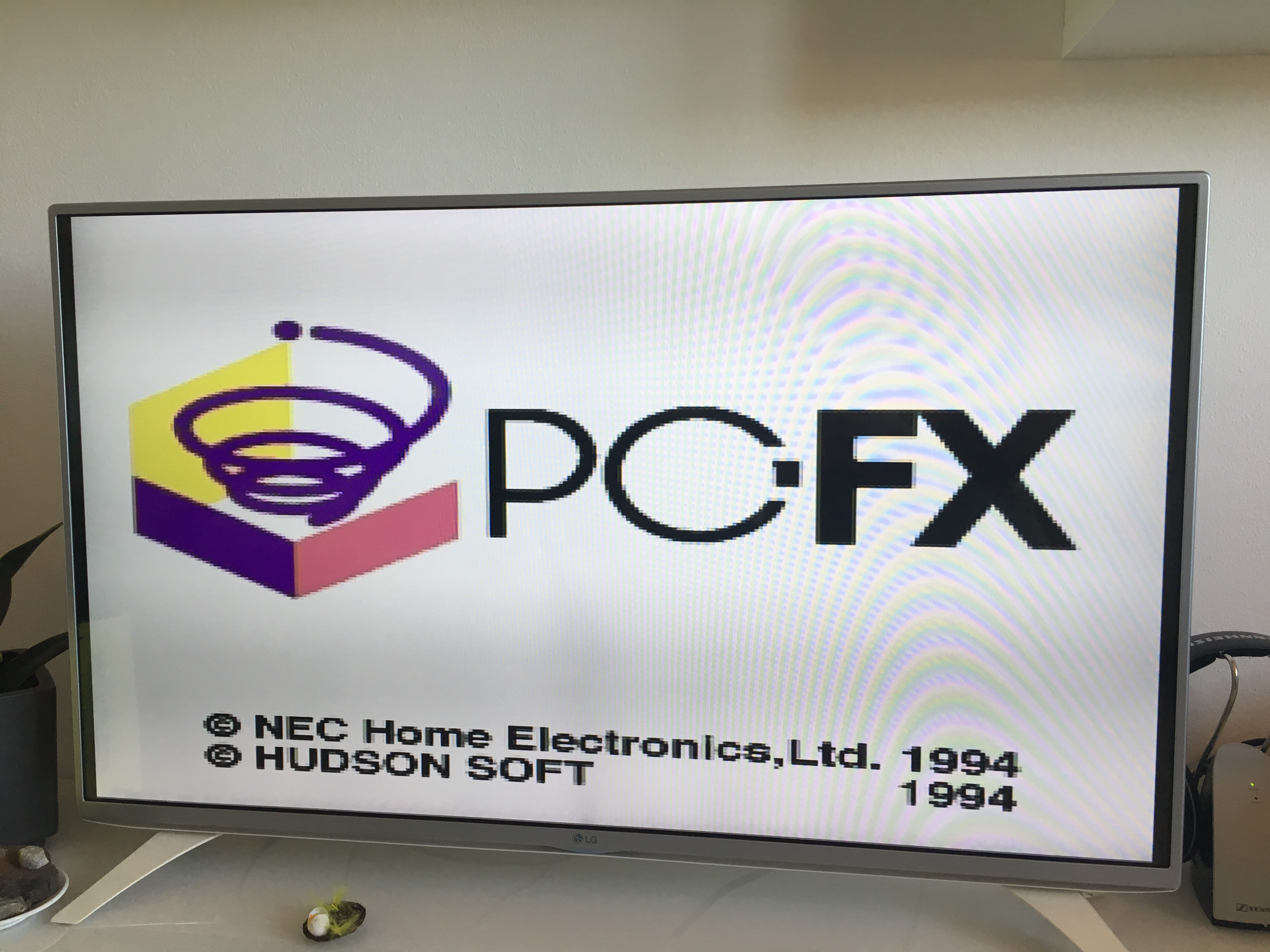 PC-Fx boot screen